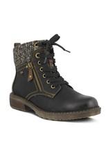 Spring Footwear Khazera Faux Leather Bootie