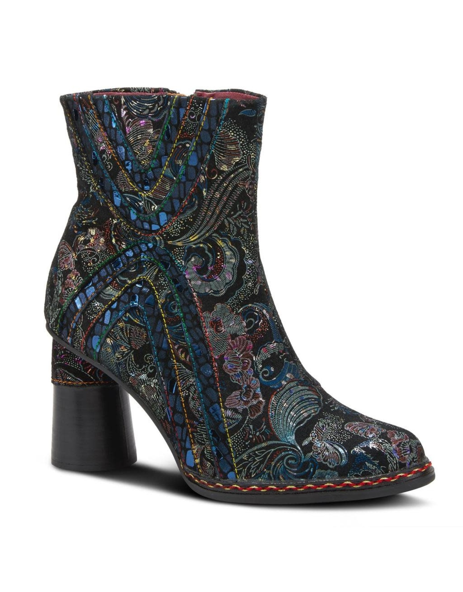 Spring Footwear Sopretti Metallic Leather Boot
