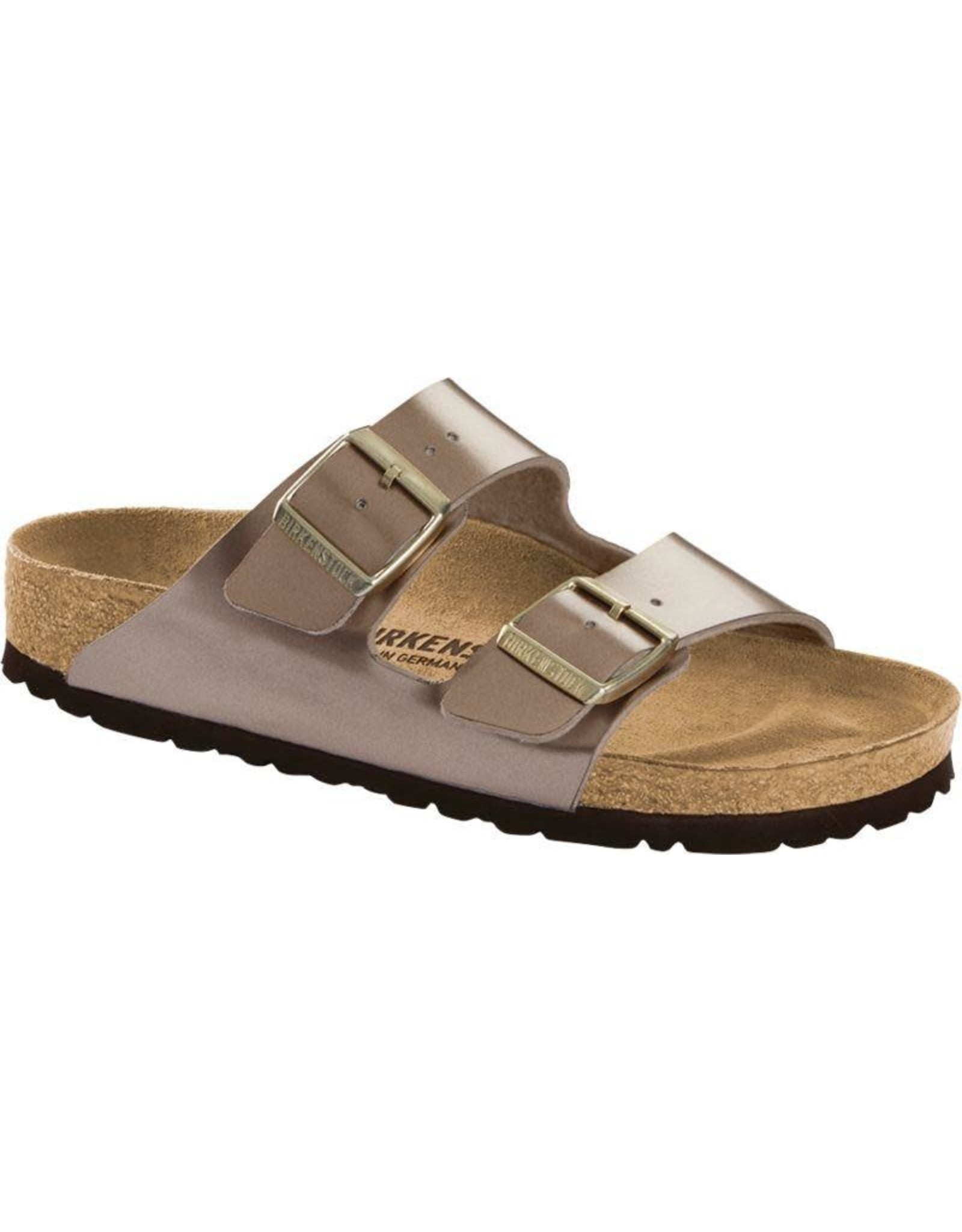 Birkenstock Arizona Electric Metallic Taupe Sandal