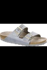 Birkenstock Washed Metallic Arizona Sandal