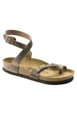 Birkenstock Yara Tobacco Leather Sandal