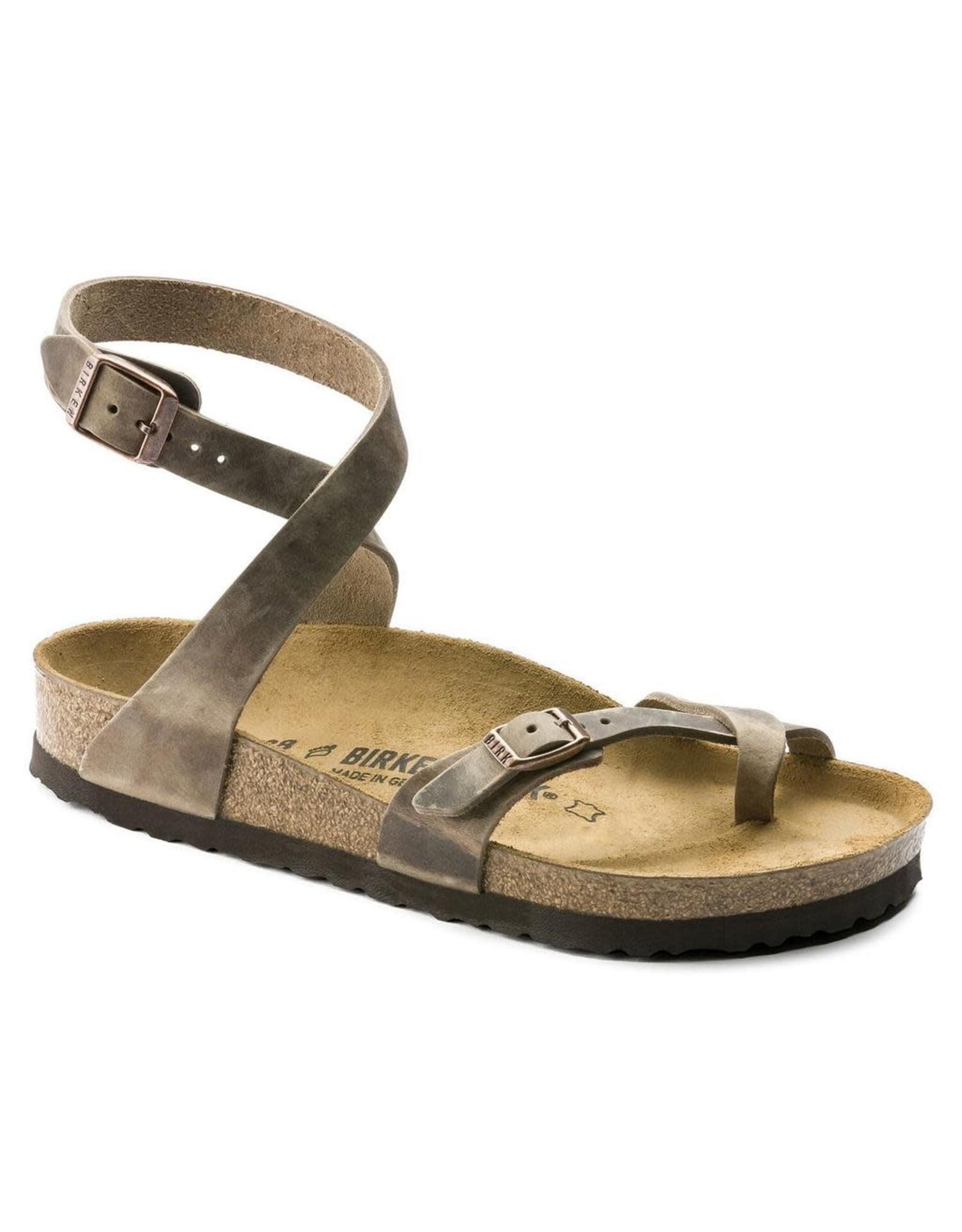 Birkenstock Yara Tobacco Leather Sandal
