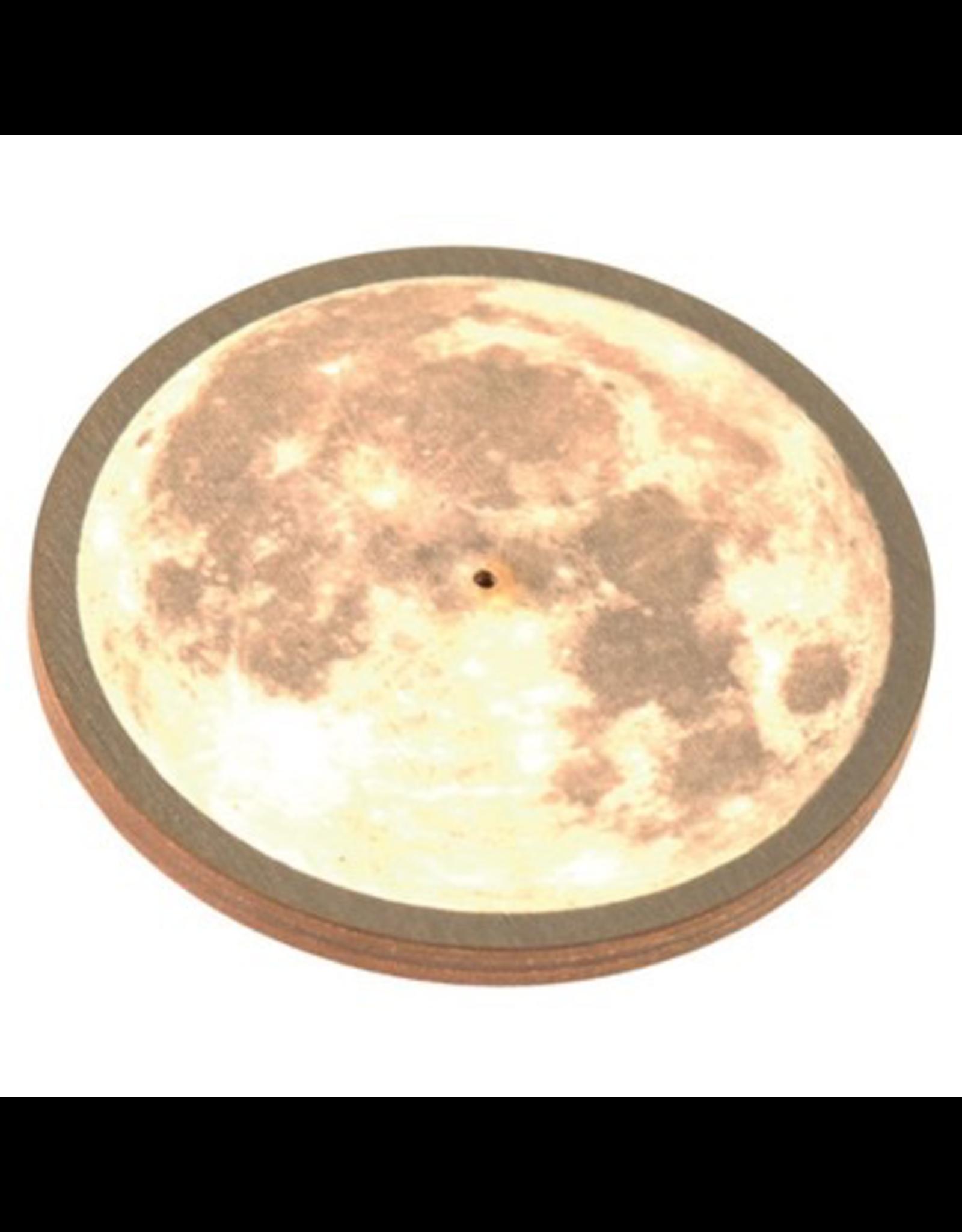Wildberry Wooden Round Moon Burner