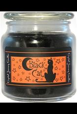 Crystal Journey Jar Candle-Black Cat