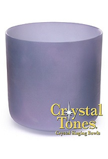 Crystal Tones 8 in Ocean Indium Crystal Tone Singing Bowl-(B-35)