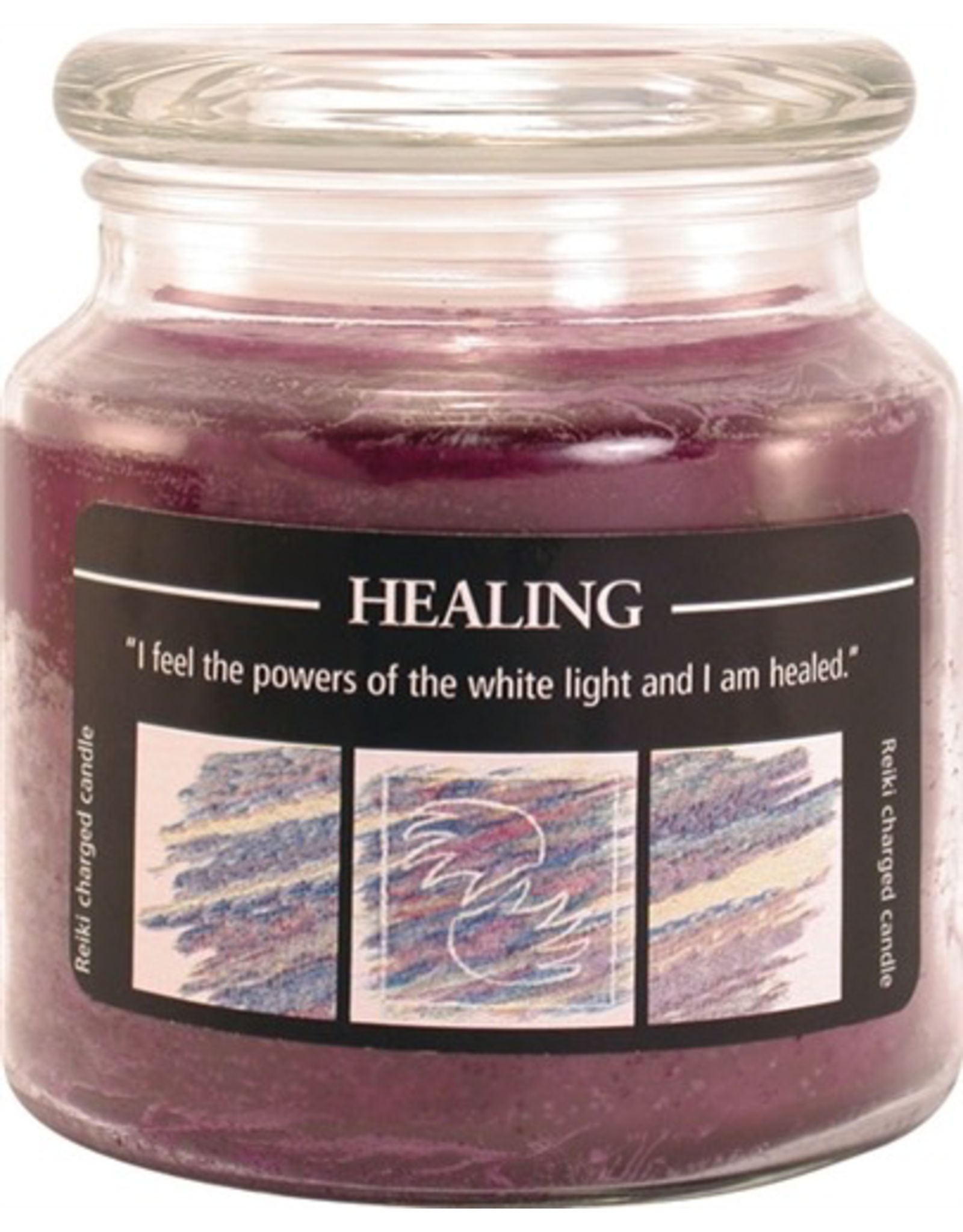Crystal Journey Jar Candle-Healing
