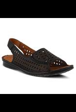 Spring Footwear Leather Open Toe Sandal - COV31124