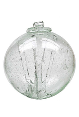 """Kitras 6"""" Olde English Witch Ball-Clear"""