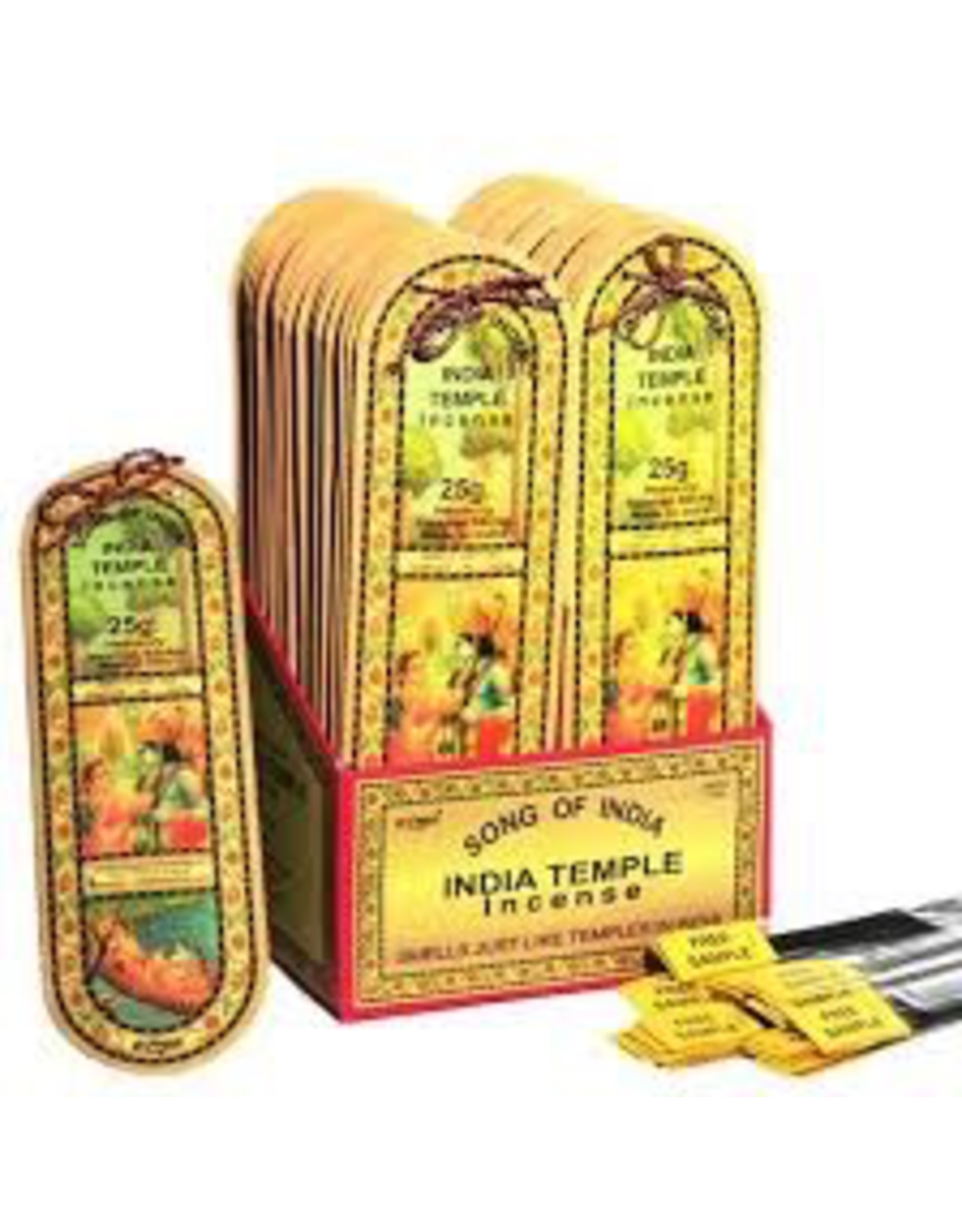 Benjamin Intl. India Temple Incense 25 Gram