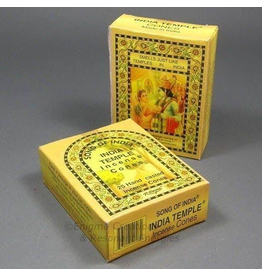 Benjamin Intl. India Temple Incense Cones