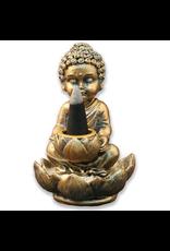 Wildberry Mini Buddha Backflow Incense Burner
