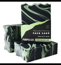 Pompeii Face Cake - Oily Skin 4 oz.