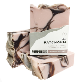 Pompeii Rose Patchouli Soap 4 oz.