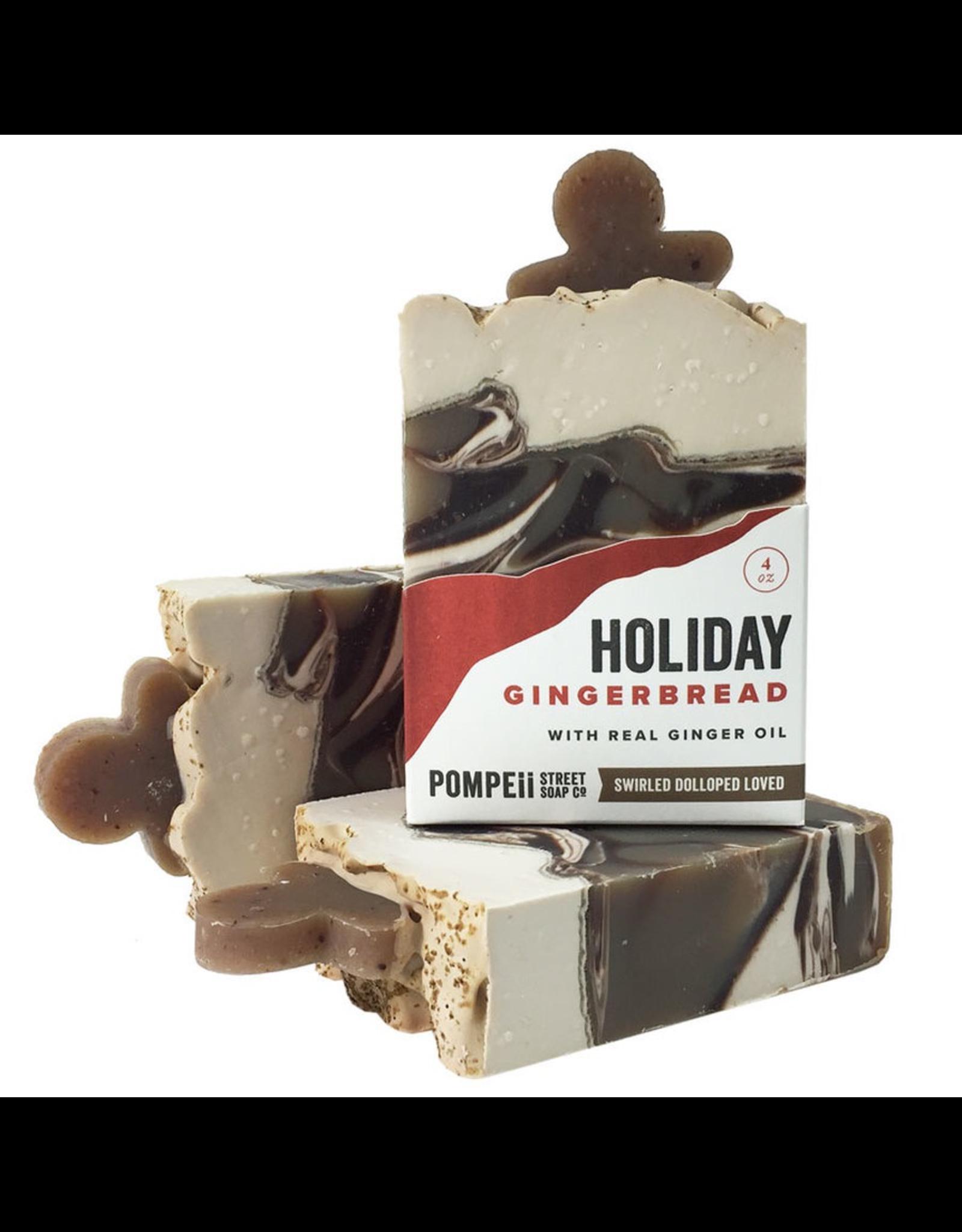 Pompeii Gingerbread Soap 4 oz.