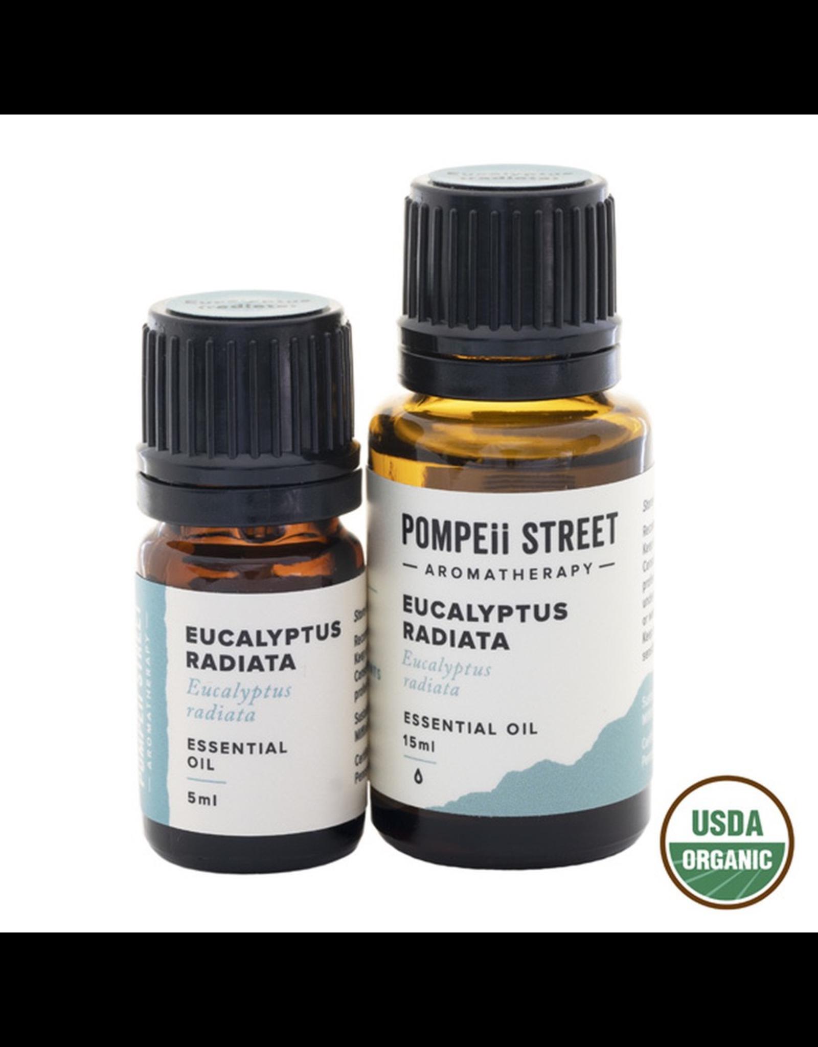 Pompeii Organic Eucalyptus( Radiata) Essential Oil 15ml