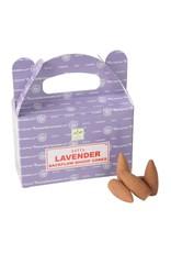 Benjamin Intl. Lavender Backflow Cone Incense