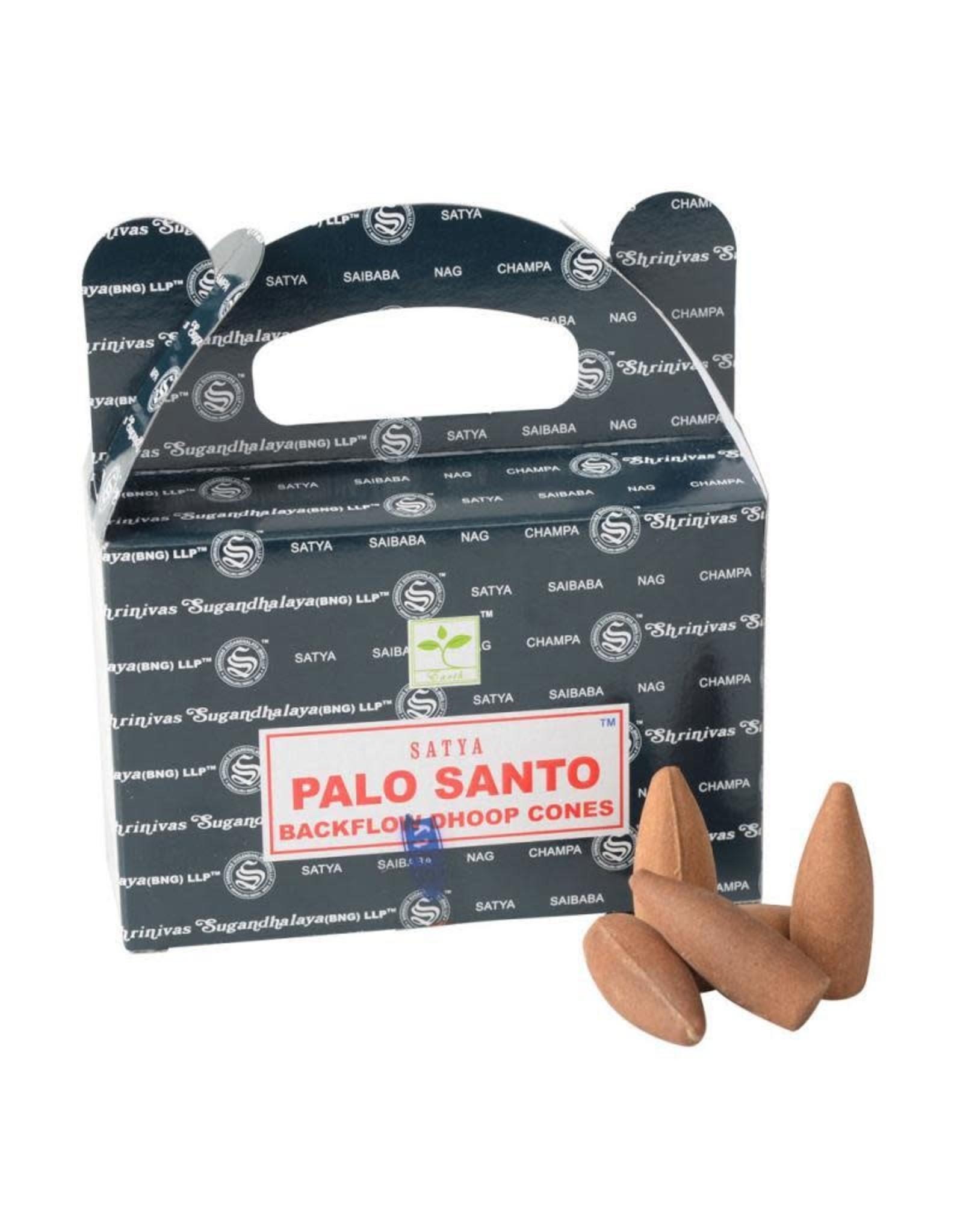 Benjamin Intl. Palo Santo Backflow Cone Incense