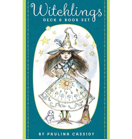 US Games Witchlings Deck & Book Set