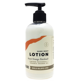 Pompeii Hand + Body Lotion Orange Patchouli 8 oz.