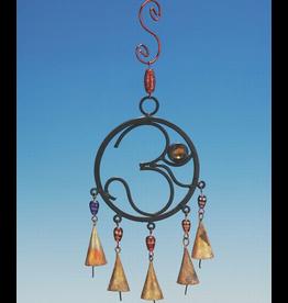 India Arts Iron OM Chime w/ beads