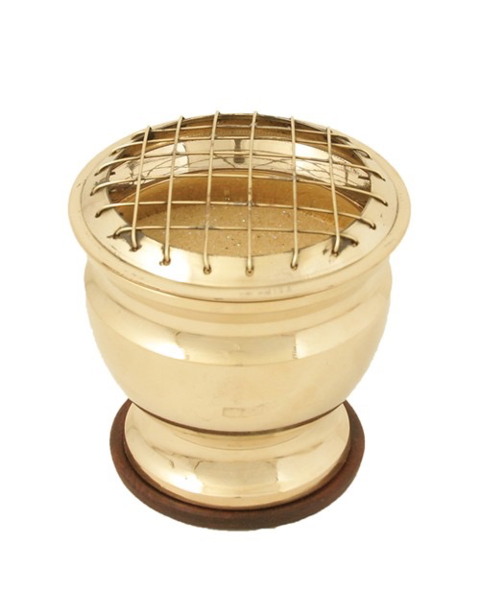 Wildberry Brass Sand Incense Burner
