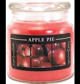 Crystal Journey Jar Candle-Warm Apple