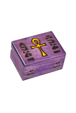 Enchanted Boxes Ankh Wood Box