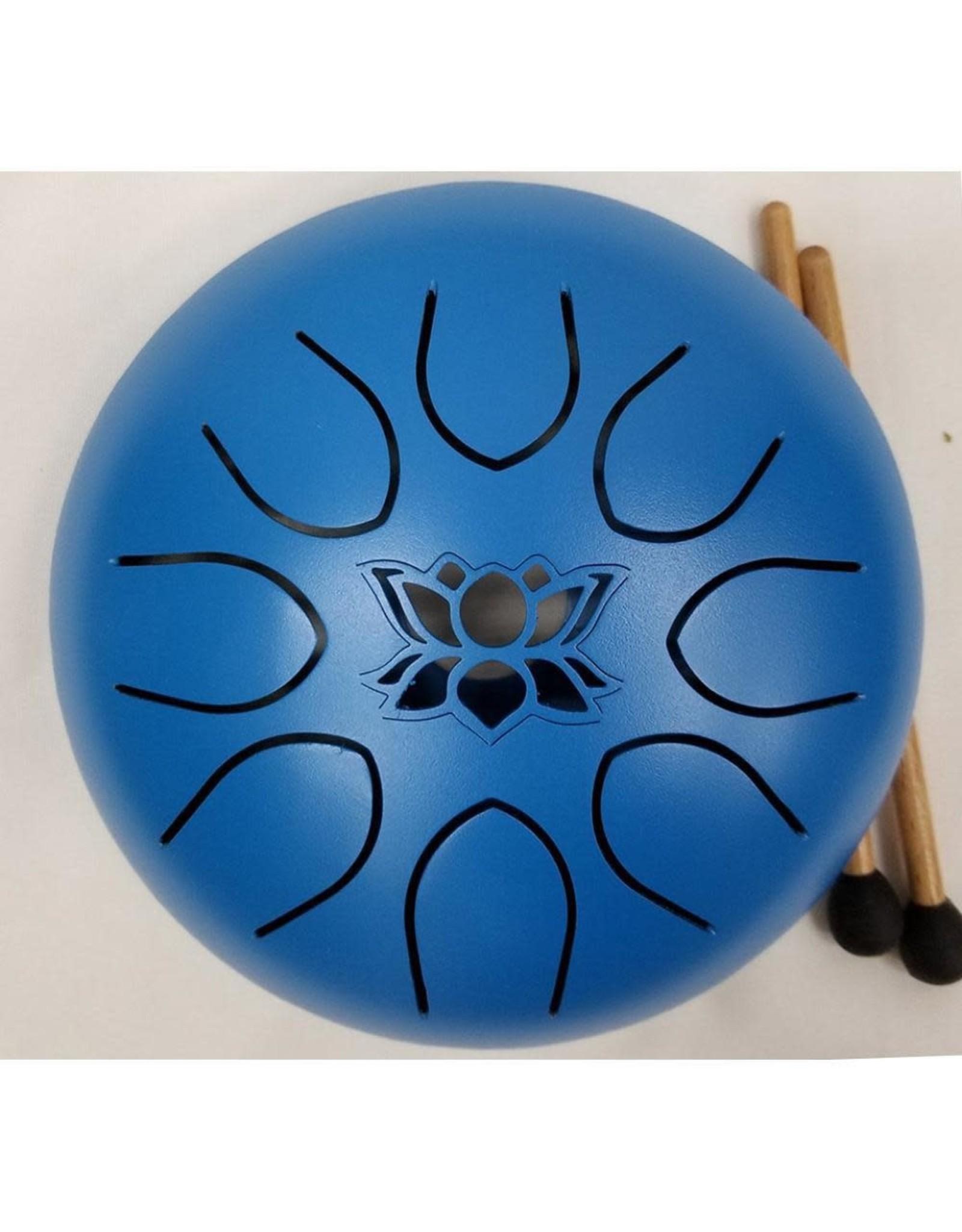Kala Imports UFO Meditation Drum 16cm-Blue