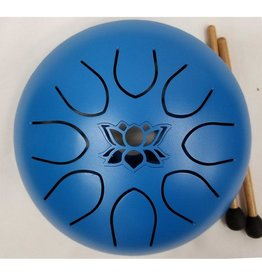 Kala Imports UFO Meditation Drum 16cm-Blue