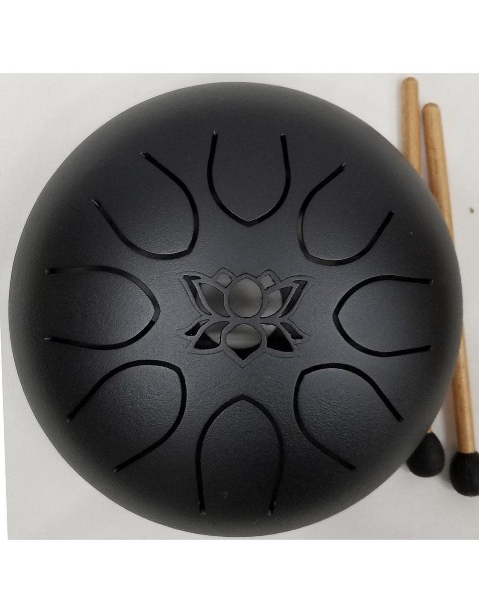 Kala Imports UFO Meditation Drum 16cm-Black