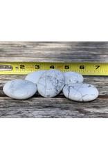 V-Rock Shop Polished Howlite Palmstones