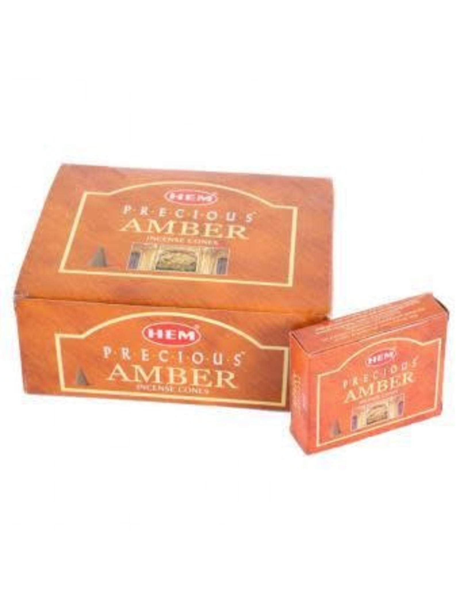 Benjamin Intl. Precious Amber HEM Incense Cones