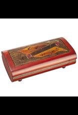 Enchanted Boxes Large Tabacco Wood Box