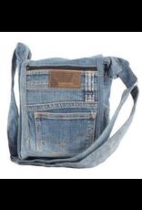Benjamin Intl. Small Crossbody Recycled Jean Bag