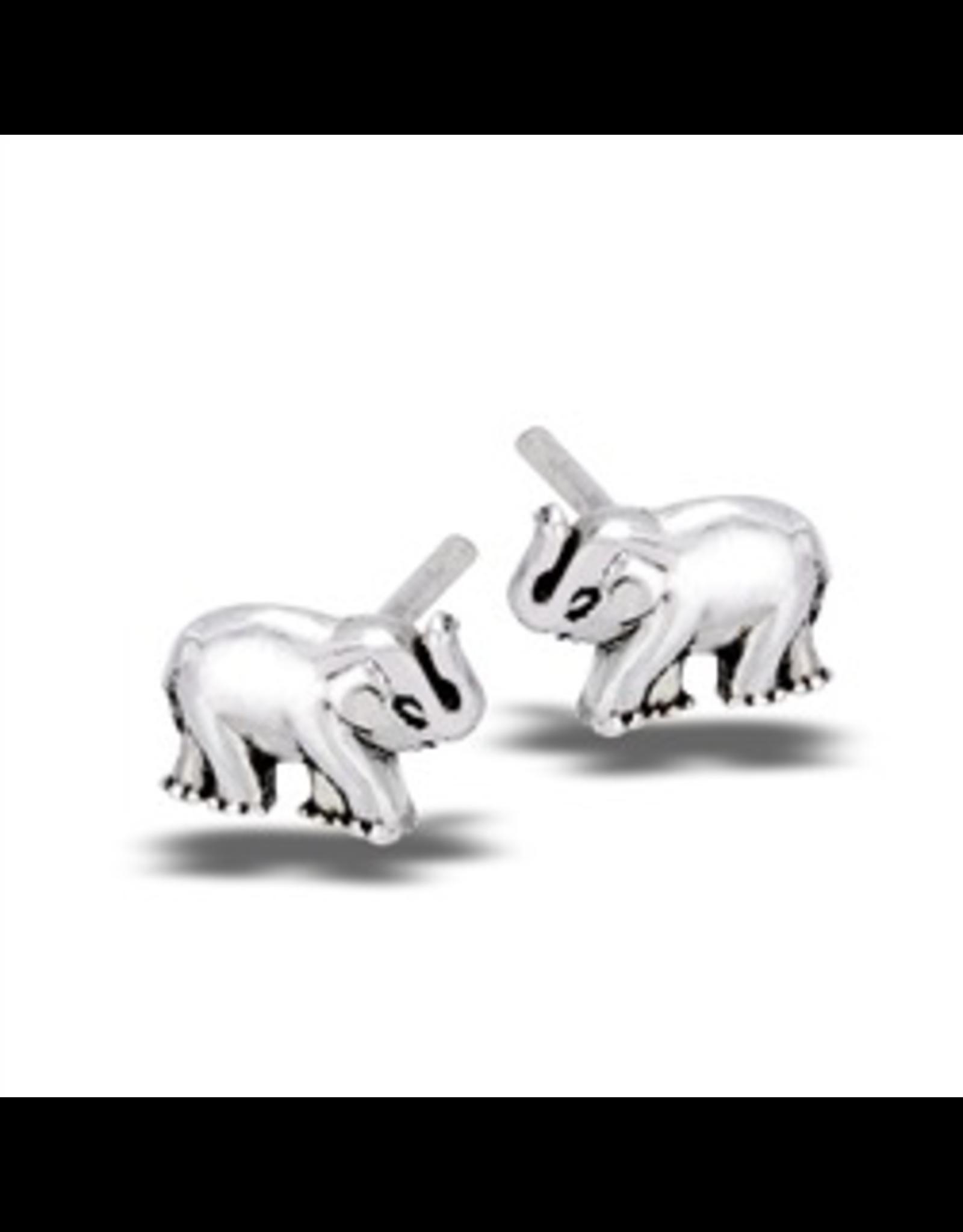 Welman S/S Baby Elephant Post Earring