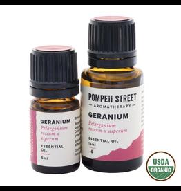 Pompeii Organic Geranium Essential Oil 15ml