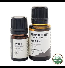 Pompeii Organic Myrrh Essential Oil 5ml