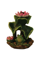 Wildberry Lily Pad Backflow Incense Burner