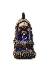 Wildberry Big Skull Backflow Incense Burner