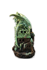 Wildberry Green Dragon Backflow Incense Burner