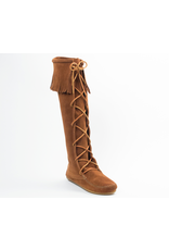 Minnetonka Front Lace Knee High Boot