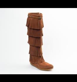 Minnetonka 5-Layer Fringe Boot - COV542