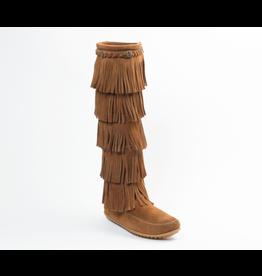 Minnetonka 5-Layer Fringe Boot - COV550