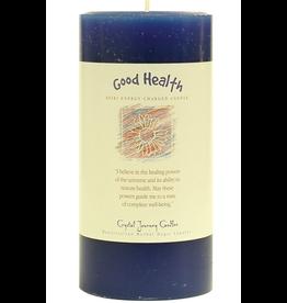 Crystal Journey Pillar 3x6 Candle-Good Health