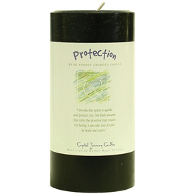 Crystal Journey Pillar 3x6 Candle-Protection