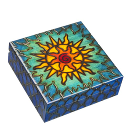 Enchanted Boxes Solar Wind Wood Box