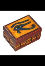 Enchanted Boxes Eye of Horus Wood Box