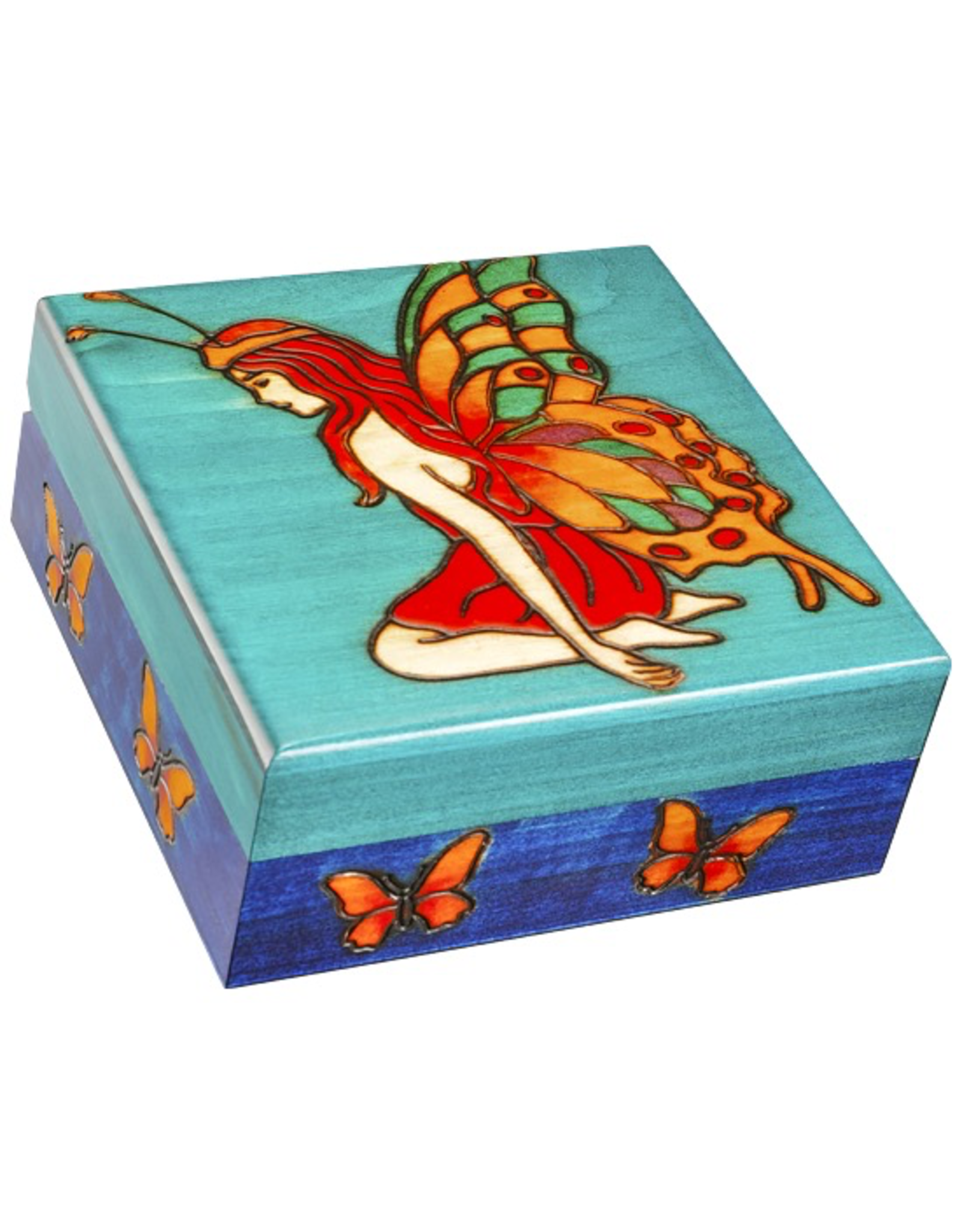 Enchanted Boxes Fairy w/ Golden Heart
