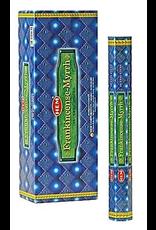Benjamin Intl. Hem Frankincense and Myrhh Hex Box
