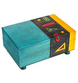 Enchanted Boxes Geometric Secret Box